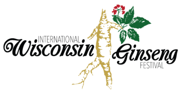 international WI Ginseng Festival logo