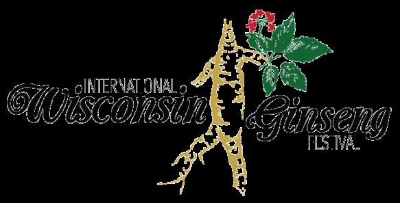 international WI Ginseng Festival logo