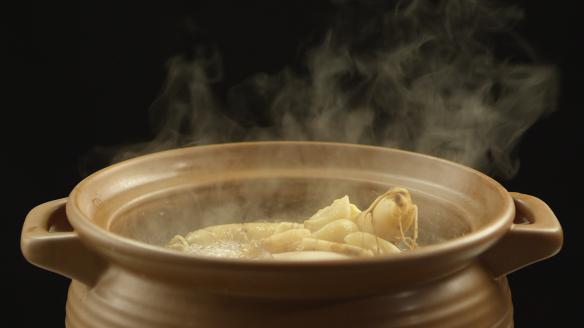 蒜頭參雞湯圖片3